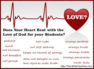 Heart Beats with Love of God