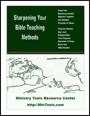 Sharpening Your Bible Teaching Methods
