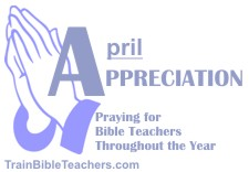 Pray Leaders Genuinely Thankful for Bible Teachers