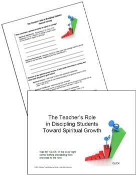 Purpose Behind Adapting - Discipling Students