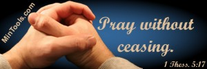 Teaching Students to Pray Without Ceasing