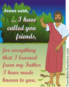 Jesus, the Master Teacher as a Friend
