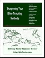 Sharpening Your Bible Teaching Methods Resource